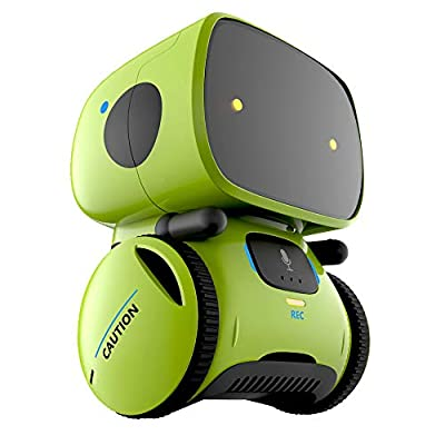 YINGTESI Stem Educational Smart Robots Toys for Kids, Vector Robot Toy with Voice Command Control Dancing, Musical, Repeat,Record, Talking, Interactive Toys, Gift for Boys Girls
