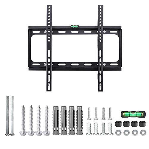 Monzana TV Wandhalterung flach Fernseher TV Wandhalter für 26-65 Zoll Flach Curved Monitor bis 105kg VESA 400 x 400