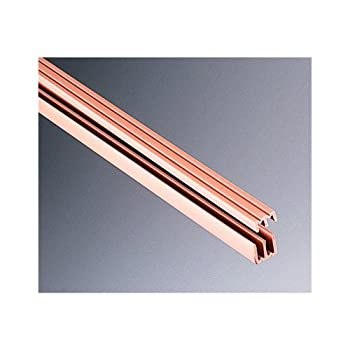 KNAPE & VOGT Manufacturing Company P2413 TAN 72 Plastic Sliding Door Track and Guides 1/8