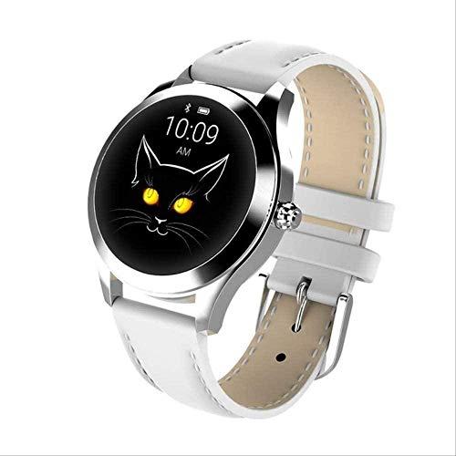hwbq Reloj inteligente de moda mujeres pulsera encantadora monitor de ritmo cardíaco...