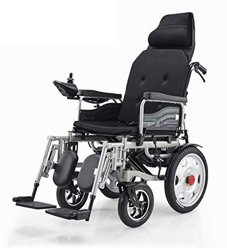 SLRMKK Tragbarer klappbarer Rollstuhl, faltbares elektrisches Antriebsrad, Antrieb mit Vorderradantrieb, Leichter tragbarer medizinischer Roller für behinderte und ältere Menschen, unterstützt 26
