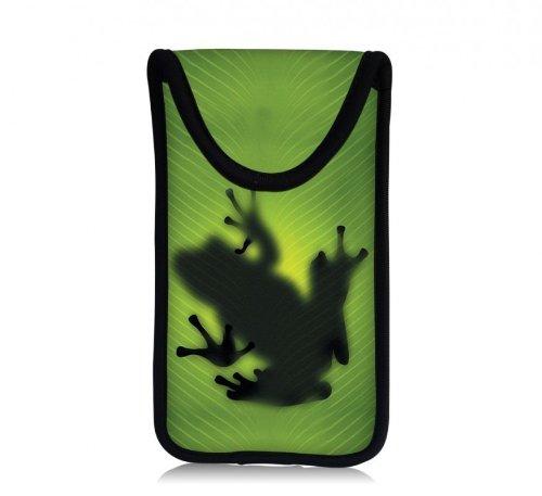 MySleeveDesign Smartphone Hülle Handy Tasche (u.a. passend für Samsung Galaxy S4 und S5 Mini, HTC one, Sony Xperia Z1 Compact und Z3 Compact UVM.) - VERSCH. Designs - Frog