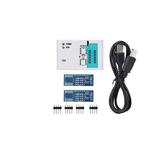 Programador SPI FLASH, Clips de Prueba Módulo Programador Adaptador Enchufe EZP2019 Componentes Electrónicos Alta Velocidad Semiconductores Activos