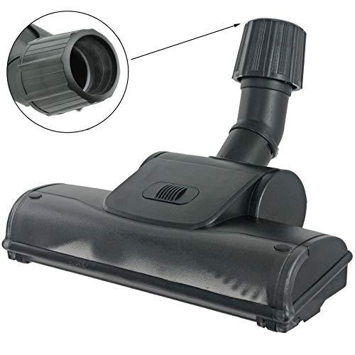 SchiVo Vertrieb GmbH - Bocchetta turbo universale con spazzola rotante per aspirapolvere AEG, Bosch, Siemens, Miele, collettore di aspirazione 30 - 37 mm