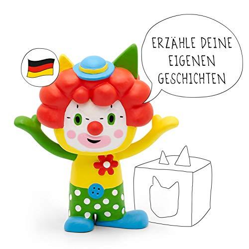 tonies Hörfiguren für Toniebox - Kreativ Clown - ca. 90 Minuten Speicher für Deine Musik, Geschichten, Hörbücher und Eigene Audiodateien - DEUTSCH