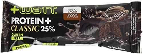 Watt Protein+ barretta proteica Cacao Scatola da 24 Barrette