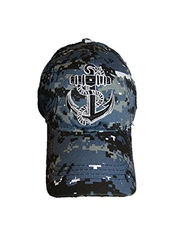 US Navy Seal Anchor Shadow Blue Acu Desert Digital Marpat Camo Cap Hat