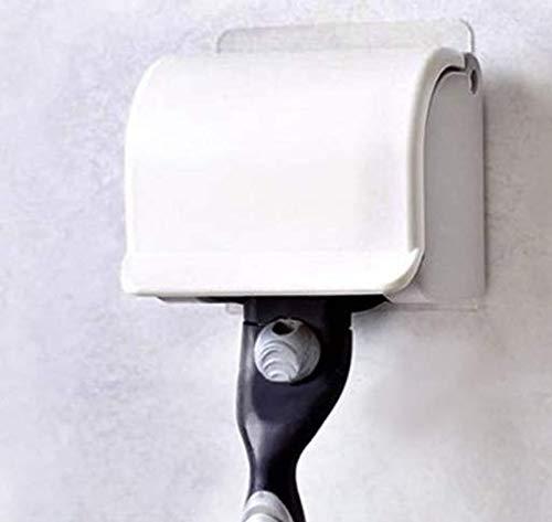 FAVOLOOK Soporte de afeitado de plástico con ventosa para afeitar o afeitar-E001