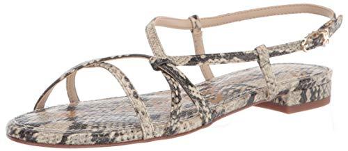 Sam Edelman womens Teale Flat Sandal Black 8.5 M