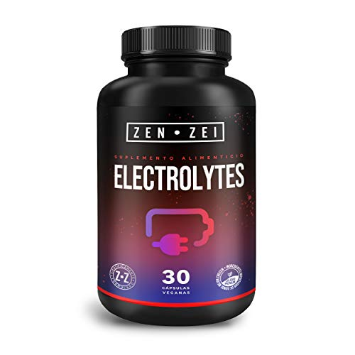 ZEN•ZEI | ADVANCED ELECTROLYTES - Complejo de Electrolitos Avanzados 100% Natural — Formulado para: Rehidratar, Recuperar, Reponer — Todos los Electrolitos Necesarios Para Tu Cuerpo — Cápsulas Veganas