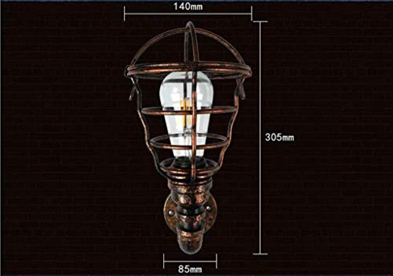 Unbekannt PIN Loft Retro Wandleuchte American Industrial Treppenhaus Gang Balkon Beleuchtung Restaurant Bar Wasserleitung Wandleuchte