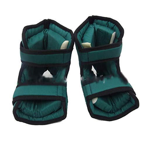 Heel Cushion Saver, 1 Pair of Foot and Ankle Cushion Pads Heel Protection Boots Protection Protect Feet Elbow Heel Bed and Bed Sore Treatment,Green