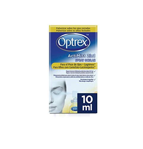 Optrex ActiMist 2in1 Spray Ocular Para El Picor De Ojos + Lagrimeo