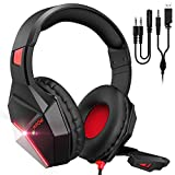 Mpow EG10 Auriculares Gaming para PS4, PC, Xbox One, Switch, Mac, Cascos da 3,5 mm Jack con...