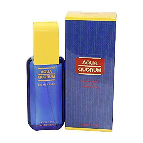 Antonio Puig Quorum Acqua Man EDT 100 ml Vapo, 1er Pack (1 x 100 ml)