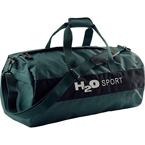 H2O Unisex Sporttasche Helsingör (Helsingor) Sports Bag L pine grün/navy blau - 48L