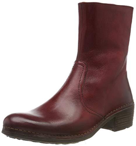 Neosens Damen S3075 Dakota Medoc Kurzschaft Stiefel, Rot (Carmin Carmin), 38 EU