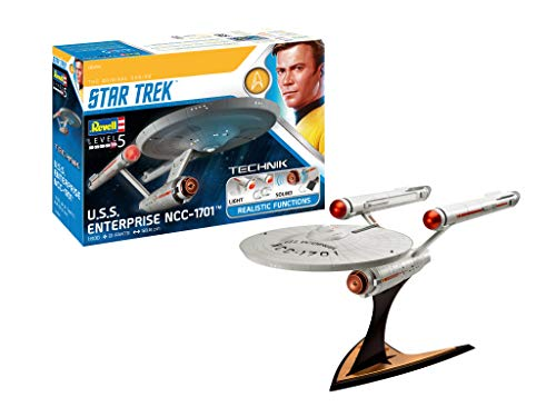 Revell RV00454 454 Star Trek 00454 USS Enterprise NCC-1701 Science Fiction Bausatz 1:600