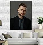 XWKCHCL Leinwand Poster Justin Timberlake Poster Drucke