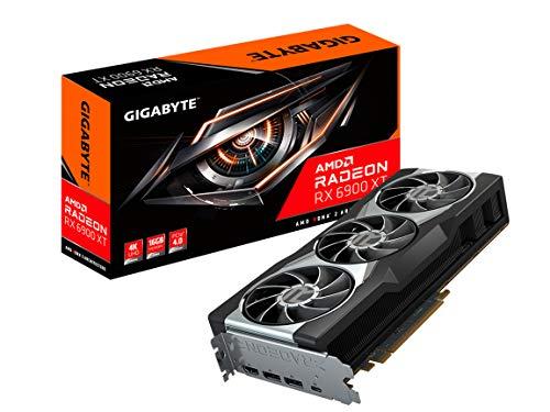 GIGABYTE Grafikkarte Radeon RX 6900 XT 16G 16GB 256-Bit GDDR6, GV-R69XT-16GC-B