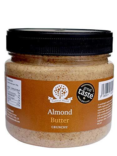 Nutural World - Mantequilla de almendra crujiente (1kg) - *** nuevo envase ***