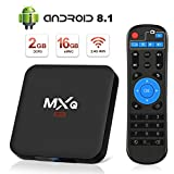Android 8.1 TV Box, Superpow Smart TV Box Quad...