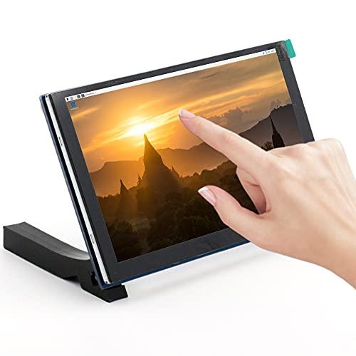 5-Zoll-Touchscreen für Raspberry Pi, MIPI DSI-Display Kapazitiver Touchscreen LCD-Monitor mit Einer Auflösung von 800 * 480, für Pi 2B/3B/4B/Raspbian/Ubuntu/Kali
