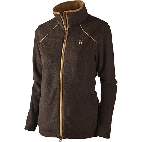 Harkila Sandhem Lady fleece jacket Dark port melange