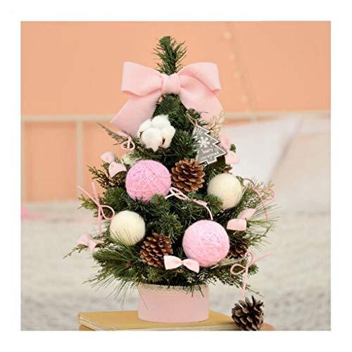 WUFANGFF Décorations De Noël Version Coréenne De Noël Set 60Cm Mini Mini Arbre De Noël Lumineux Ornements De Bureau,60Cm