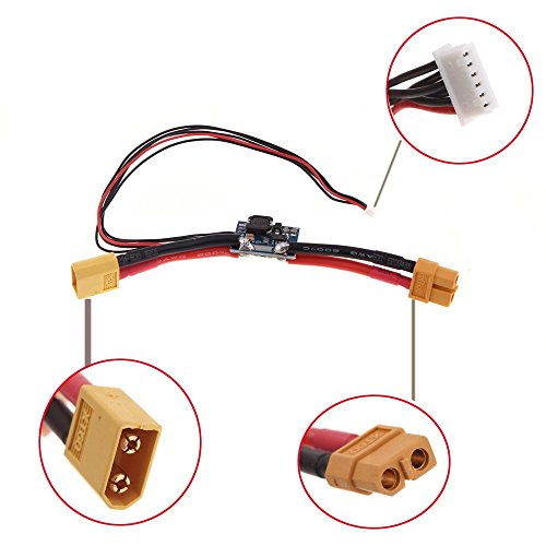 TOOGOO(R)APM2.5.2 APM2.6 Pixhawk Flight Kontroller Board V1.0 Ausgang Power Module XT60 Stecker BEC 3A
