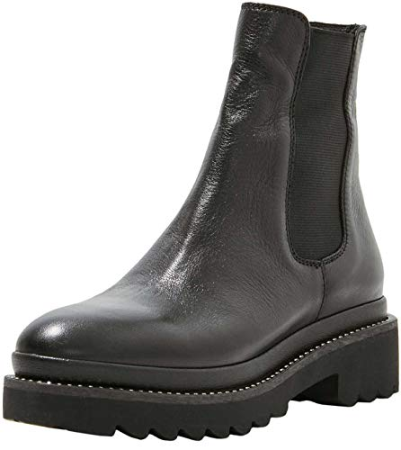 INUOVO Damen 673001 Halblange Stiefel, Schwarz, 37 EU