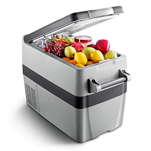 MYPNB Kühlbox Auto-Kühlraum, 12v 240v tragbare elektrische Kühlbox mit Kompressor 40L Kühlschrank Gefrierschrank Hoch Refrigeration CoolBox Kann niedriger als die Umgebungstemperatur 18 ° C