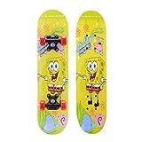 Skateboard Complete Mimi,23 Inches Pro Animated Spongebob Squarepants Pattern