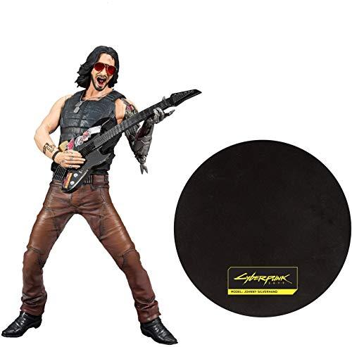 Cyberpunk 2077 Johnny Unisex Actionfigur Standard Vinyl Fan-Merch, Gaming