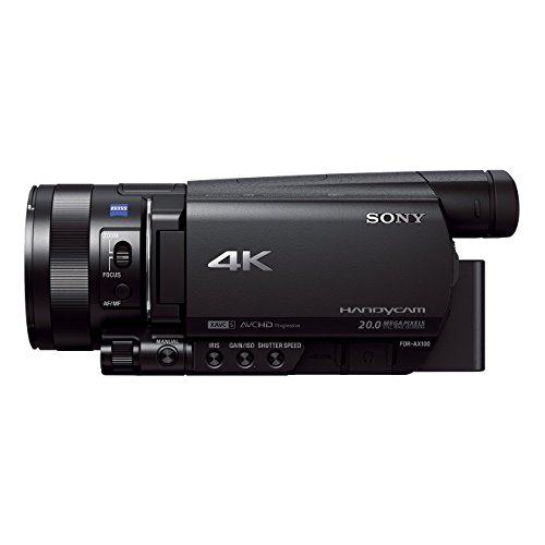 Sony FDR-AX100 4K Ultra HD camcorder/videocamera, Single, zwart