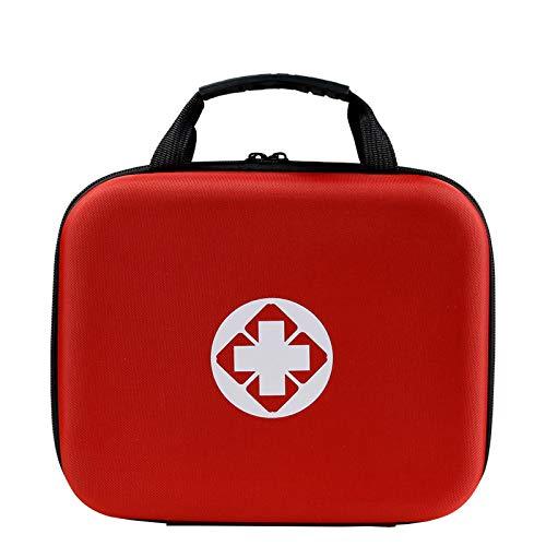 Xuanshengjia Bolsa de primeros auxilios para camping, de EVA, antiepidemia, para coche, antipresión, para emergencias, accesorios médicos, almacenamiento médico, bolsa de nailon impermeable