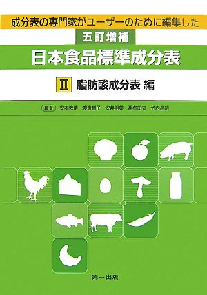 成分表の専門家がユーザーのために編集した五訂増補日本食品標準成分表〈2〉脂肪酸成分表編の詳細を見る