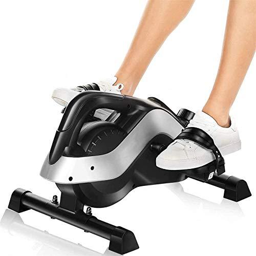Alvnd Ejercicio de Pedal de Silla Plegable de Cero Gravedad, máquina de Ejercicios de Pedal con Pantalla LCD, Mini Bicicleta de Ejercicios estacionarios magnéticos para el hogar y el Entrenamiento de
