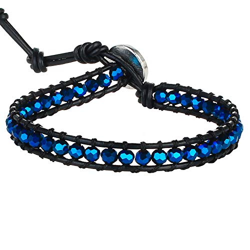 KELITCH Bracelet D'enroule De Style De Bohémien Bracelet D'amitié Tissé À La Main Bracelets des Femmes pour Fillles Bracelets De Charme Bracelets D'exquise en Perlés Nouveaux Bracelets