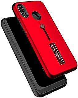 Personality TPU Pc Dual Layer With Stand and Finger Holder Back Cover For Huawei For Honor 8C