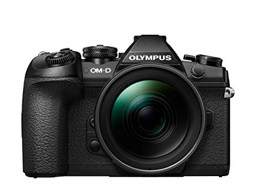 Olympus OM-D E-M1 Mark II Kit, Micro Four Thirds systeemcamera en M.Zuiko Digital ED 12-40 mm F2.8 PRO universele zoom, zwart
