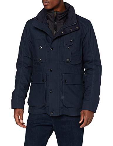 G-STAR RAW Herren Jacket Modular 2 in 1 hunting field jkt, Mazarine Blue A577-4213, X-Large