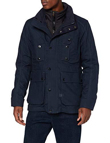 G-STAR RAW Mens Modular 2 in 1 Hunting Field JKT Jacket, Mazarine Blue A577-4213, XX-Large