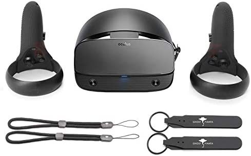 Oculus Rift S PC Power VR Gaming Headset Black Touch Controllers 3D Positional Audio Insight product image