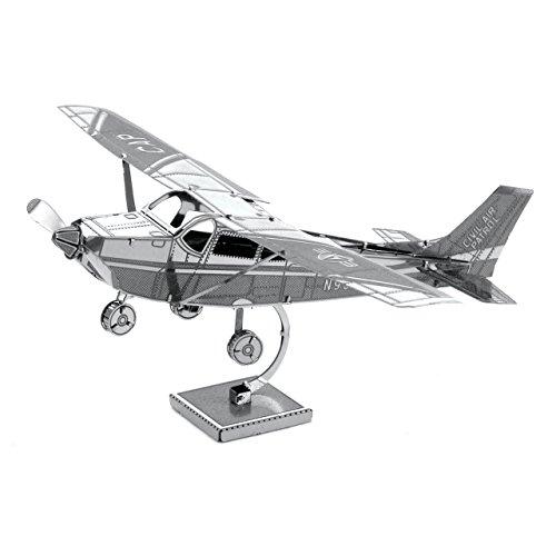 Metal Earth - Maqueta metálica Avión Cessna 172 Skyhawk , color/modelo surtido