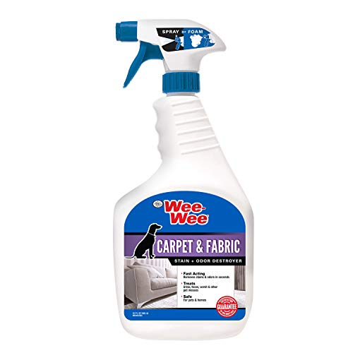 Four Paws Wee-Wee Pet Stain and Odor Eliminator for Urine Stains 32 Ounces