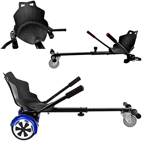 Hoverboard Sitz Hoverkart Verstellbarer Kartsitz für Elektroscooter bis 130 kg 9453