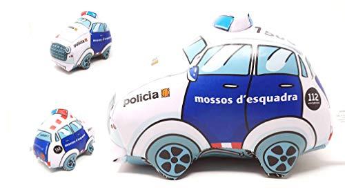 PLAYJOCS Peluche Coche Mossos d ´Esquadra GT-8011