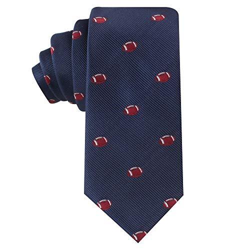 American Gridiron Football NFL Fan Krawatte | Skinny Tie Herren Krawatte | Gridiron Ball Sport | Geburtstagsgeschenk für Männer (American Gridiron)