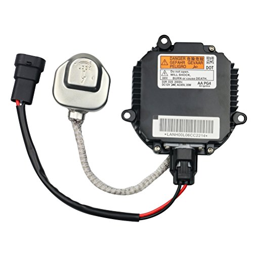 HID Ballast with Ignitor - Headlight Control Unit - Replaces 28474-8991A, 28474-89904, NZMNS111LANA - Compatible with Nissan & Inifiniti Vehicles - Murano, Maxima, Altima, 350Z, QX56, G35, FX35